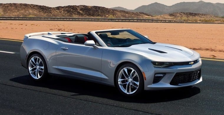 2016 Chevrolet Camaro soft top