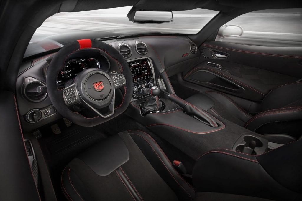 2016 Dodge Viper ACR interior