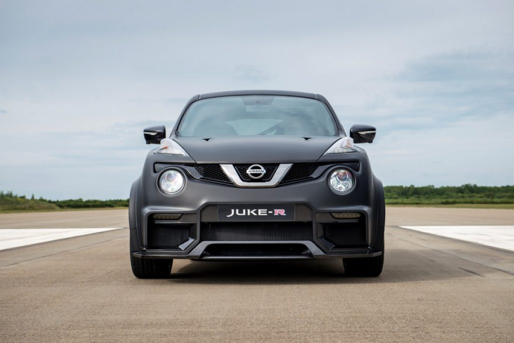 Nissan Juke-R 2.0 one of the oddest looking crossovers ...