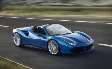 New Ferrari 488 Spider UAE