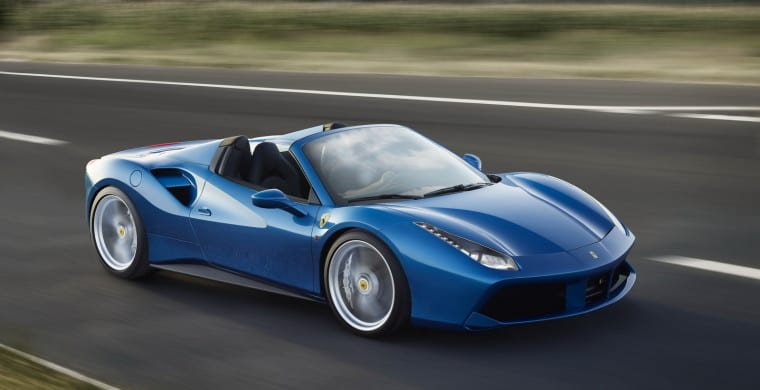 New Ferrari 488 Spider UAE