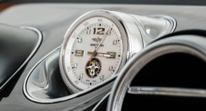 Bentley Bentayga's Optional Mulliner Tourbillon by Breitling Clock