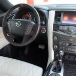 Nissan Patrol NISMO interior UAE