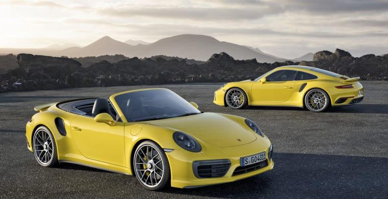 New Porsche 911 Turbo and Turbo S UAE