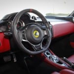Lotus Evora 400 interior UAE