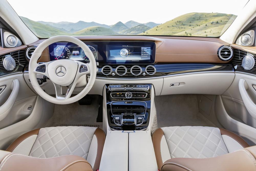 2017 Mercedes-Benz E-Class interior UAE