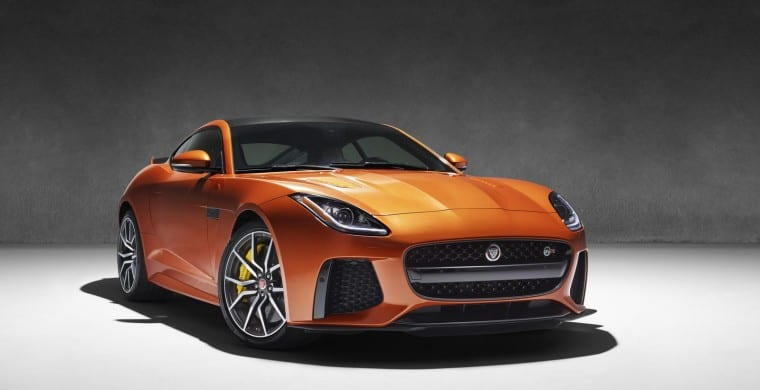 Jaguar F-Type SVR UAE