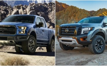 Ford Raptor vs Nissan Titan