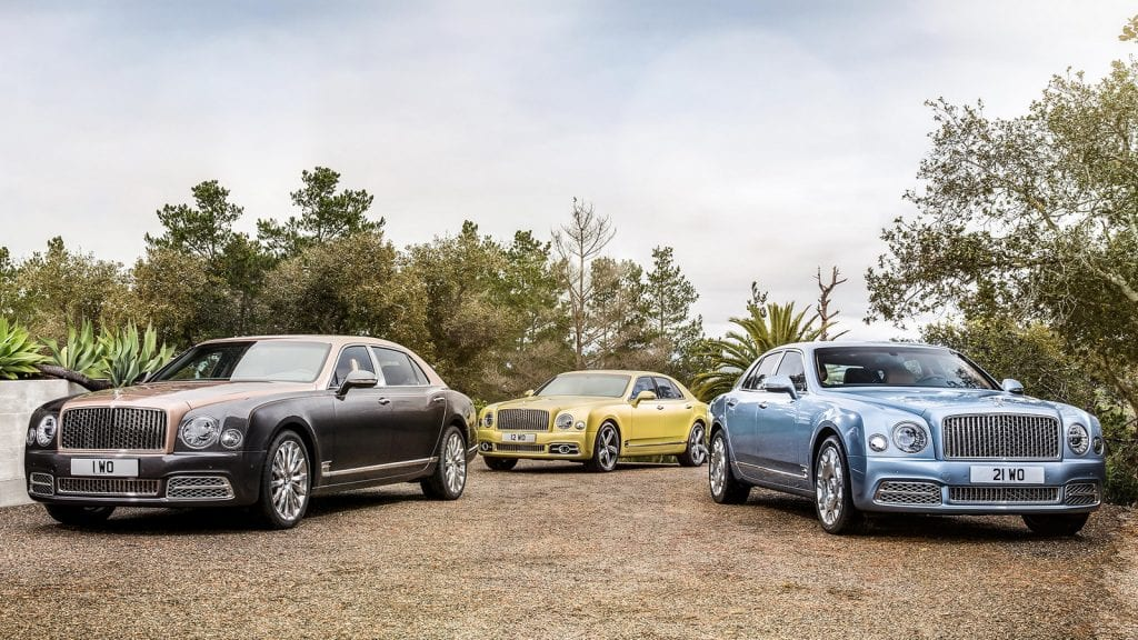 2017 Bentley Mulsanne Dubai