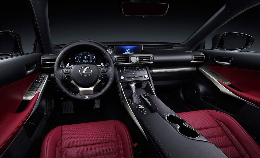 2017 Lexus IS Interior Dubai