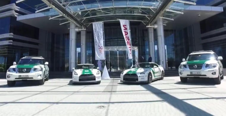 Dubai Police add 2016 Nissan's to their fleet - Dubai, Abu