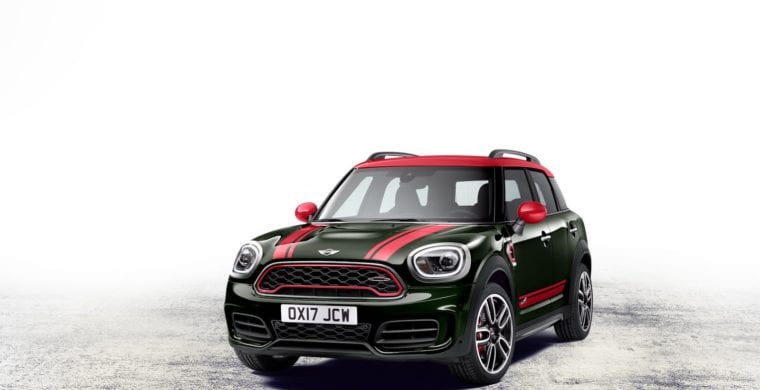 Free registration and insurance across the Mini range