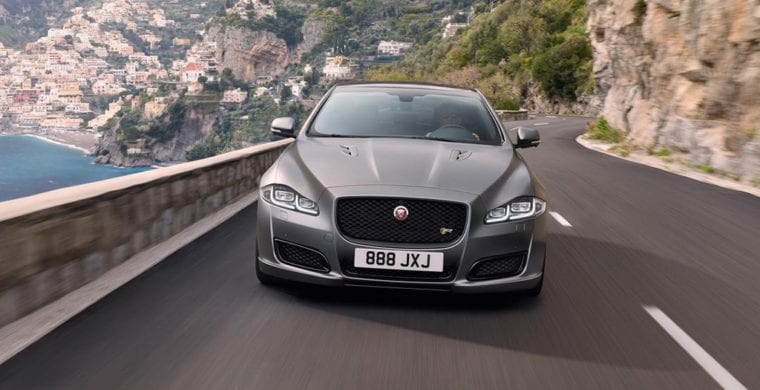 5-year service and maintenance contract with all Jaguar saloon cars
