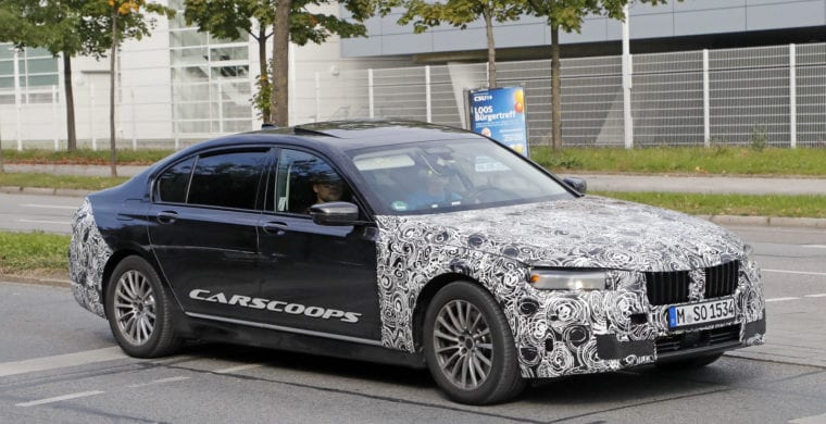 2019 Bmw 7 Series To Receive Facelift And New Features Dubai Abu