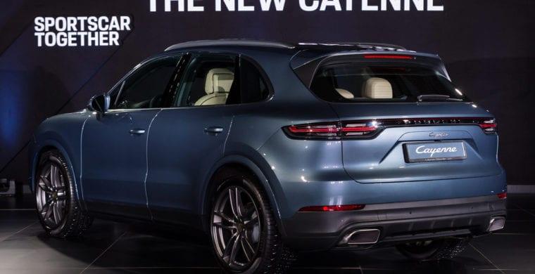 Third Generation Porsche Cayenne