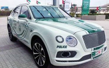 2018 Bentley Bentayga Joins Dubai Police Luxury Fleet