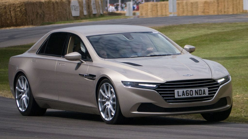 2015 Aston Martin Lagonda Taraf Top ten incredible cars