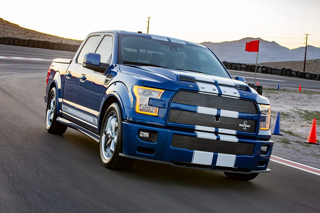 2017 Ford F-150 Shelby Super Snake top ten