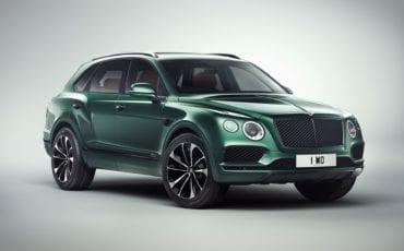 One-off Bentley Bentayga