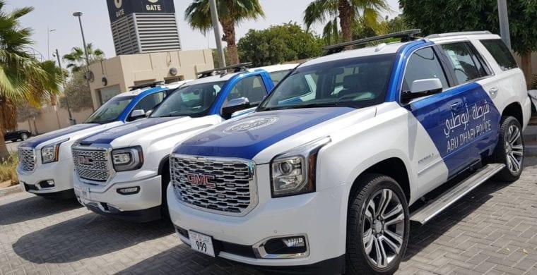 GCC Traffic Week with GMC and Abu Dhabi Police