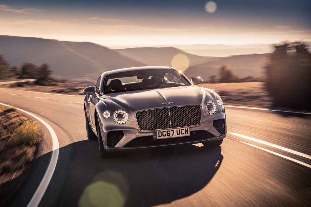 New Bentley Continetal GT/ Bentayga V8