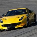 New Ferrari F12 TDF