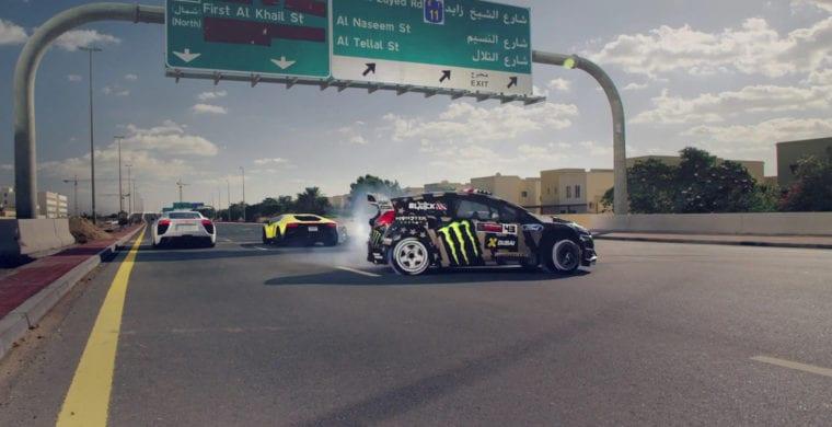 Drifting in UAE