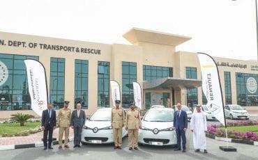Dubai Police Renault Zoe