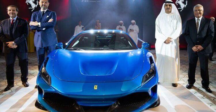 Ferrari F8 Tributo Dubai