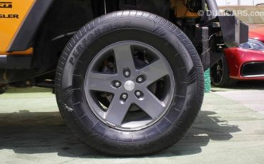 Jeep Wrangler wheel shot