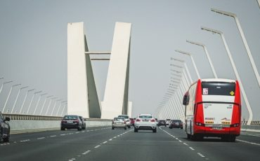 Abu Dhabi toll gate