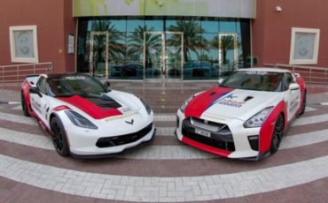 Dubai Ambulance sports cars