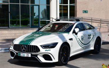 Dubai Police AMG GT G3 S