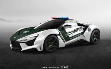 W Motors Fenyr Supersport Dubai Police Car