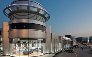 Abu dhabi motors showroom