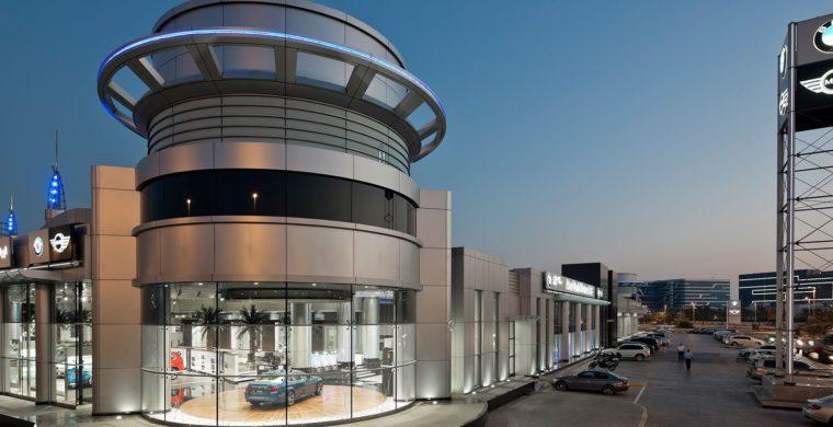 Abu dhabi motors showroom
