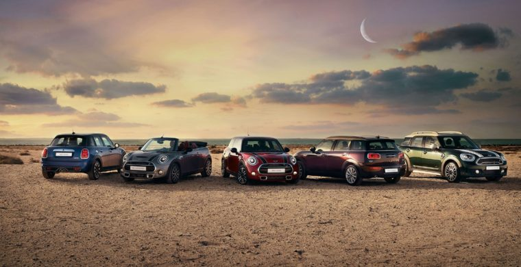 0% finance for five years on all Mini models