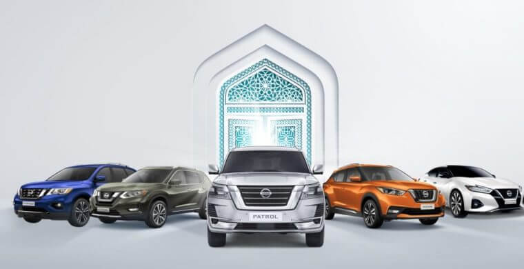 4-months deferred payments on all Nissan SUV's this Ramadan