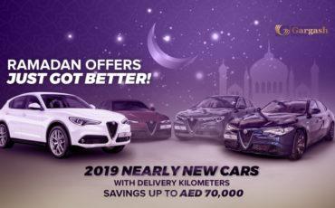 2020 Gargash Purple Ramadan Deals