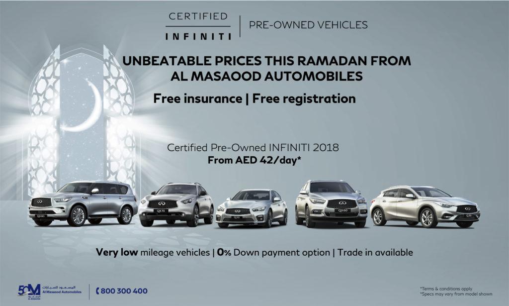2020 Al Masaood Automobiles Ramadan Deals - Dubai, Abu ...