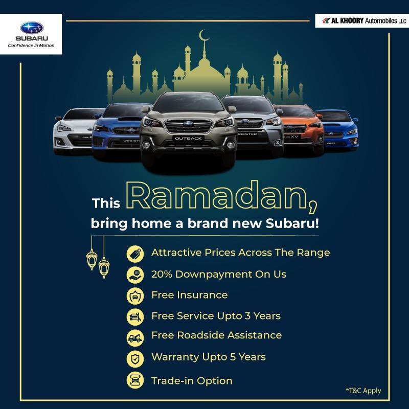2020 Subaru Ramadan Deals