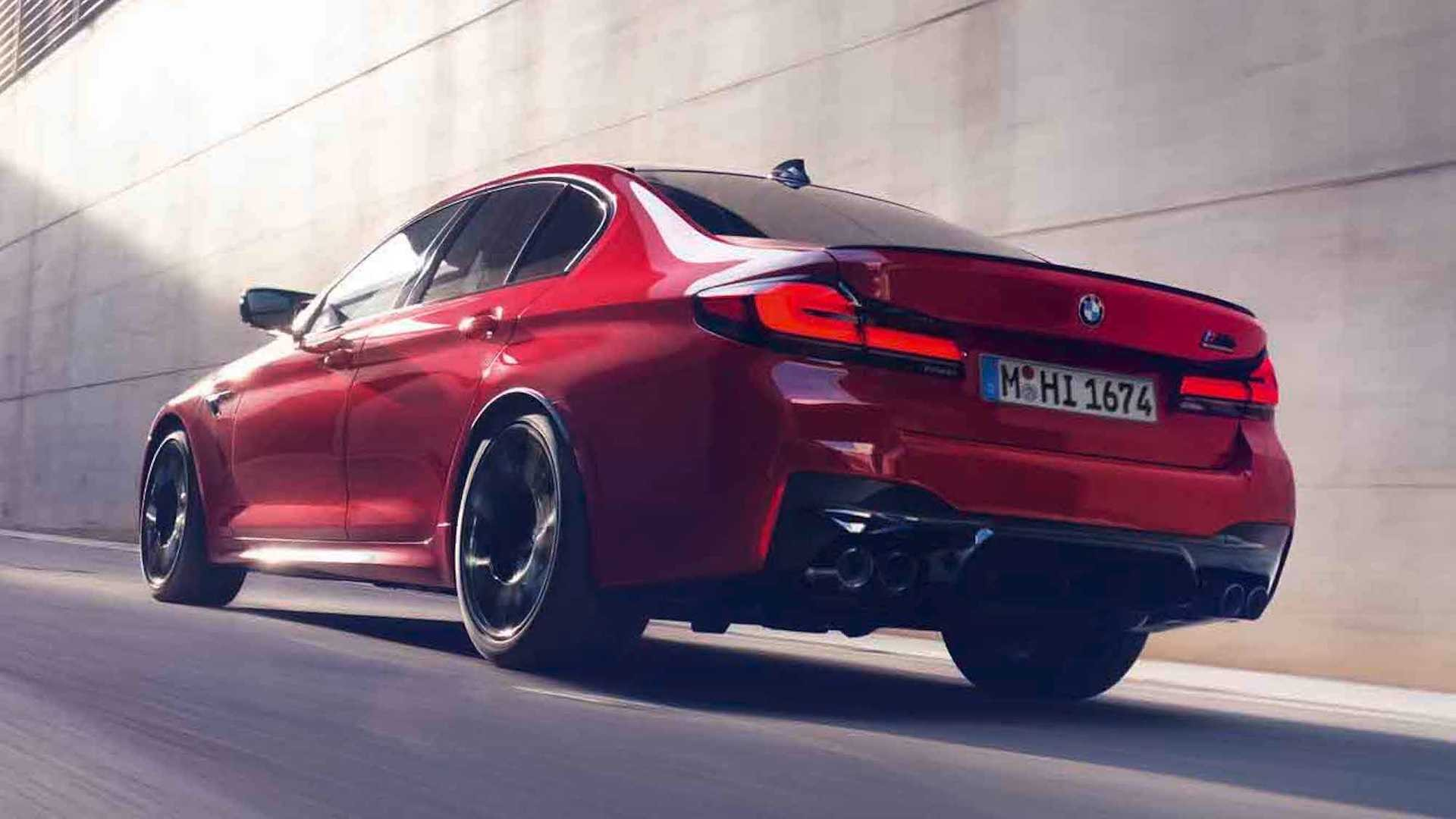 2021 bmw m5 debuts with sharp looks and upgraded tech
