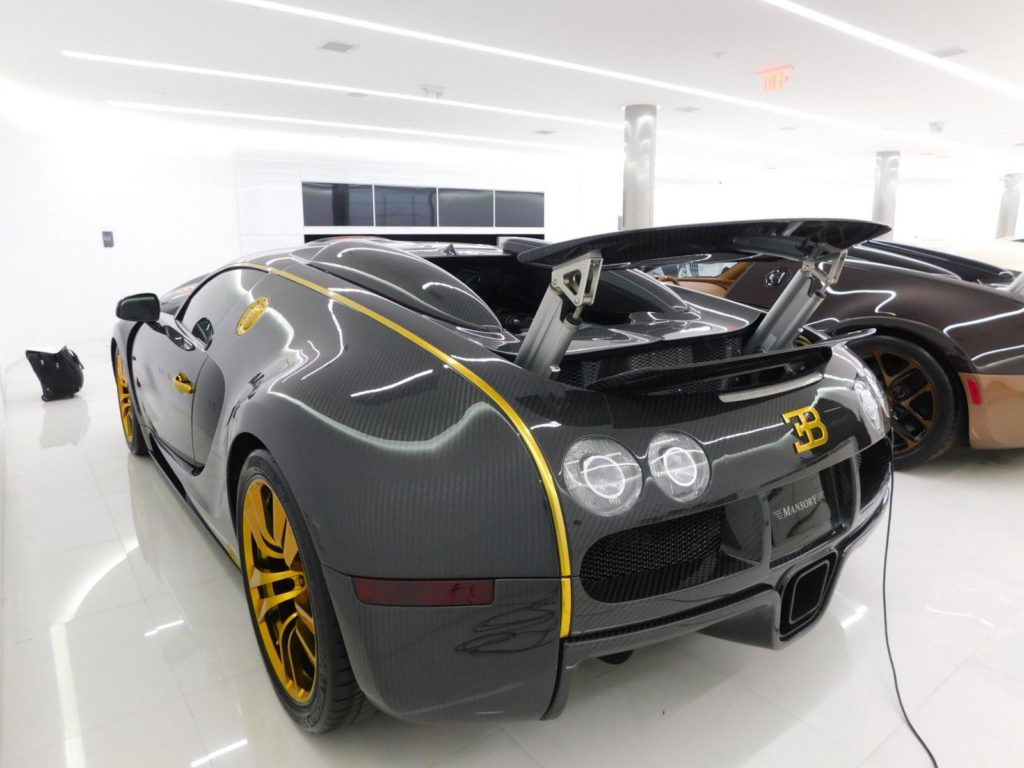 Bugatti Veyron by Mansory Linea Vincero d'Oro - Dubai, Abu ...