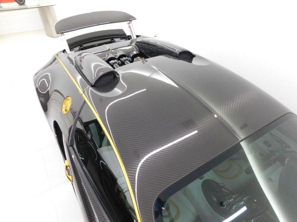 Bugatti Veyron by Mansory Linea Vincero d'Oro